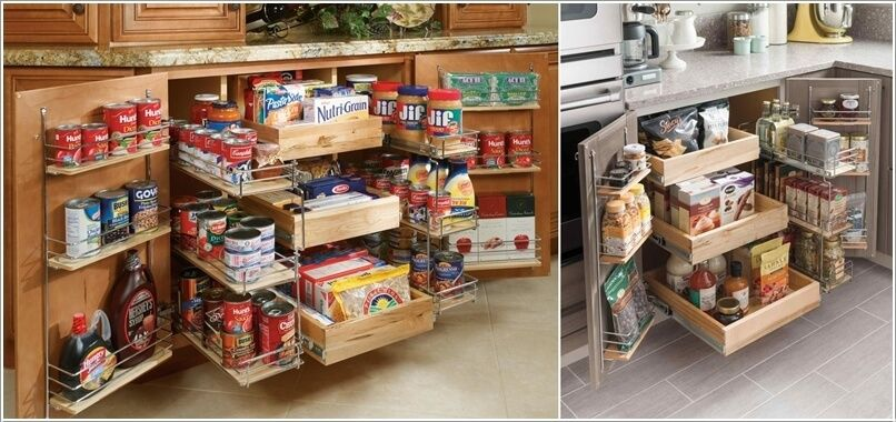 10 Clever Ideas To Store More In A Small Space Pantry 2 Practical