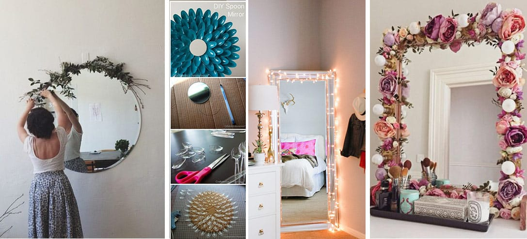 10 Ideas DIY Para Decorar Tus Espejos Y Que Se Vean Incre Bles