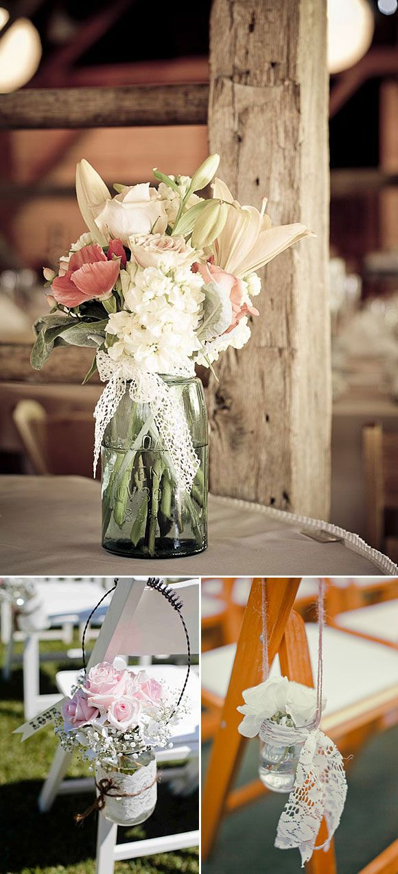 10 Ideas Para Decorar Tu Boda Con Encaje Y