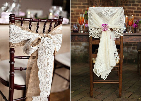 10 Ideas Para Decorar Tu Boda Con Encaje