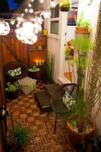 10 Ideas Para Decorar Un Patio Muy Peque O Pinterest