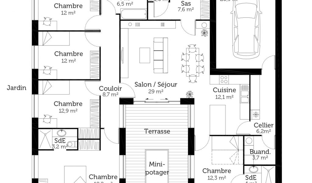 11 Best Plan De Maison Images On Pinterest Building Construction Et