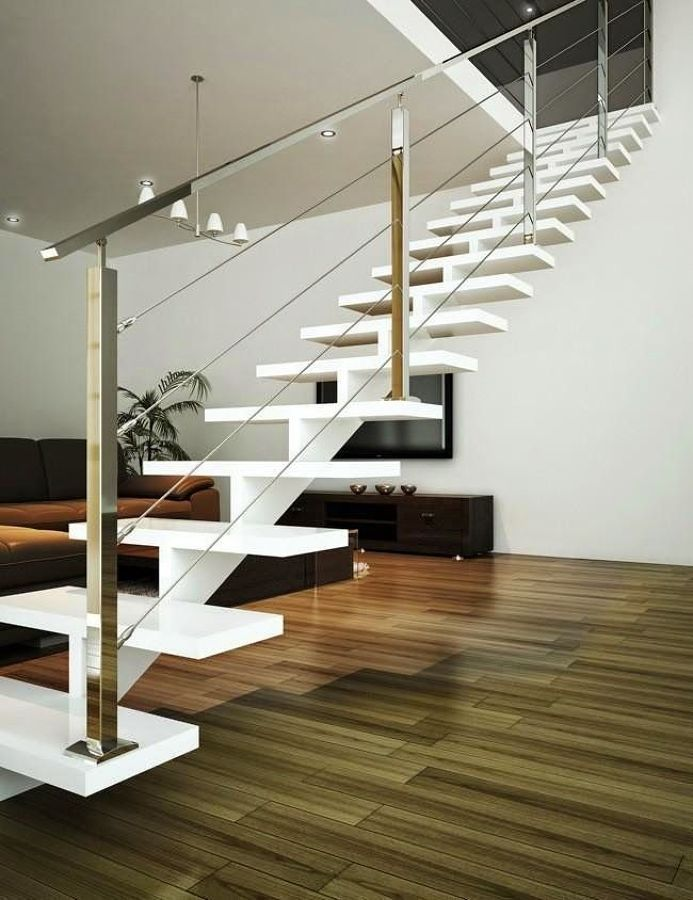 12 Best Escaleras Images On Pinterest Banisters Modern Stairs And