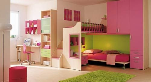12 Ideas De Habitaciones Para Ni As Dise O Color Rosa Tunada Mi