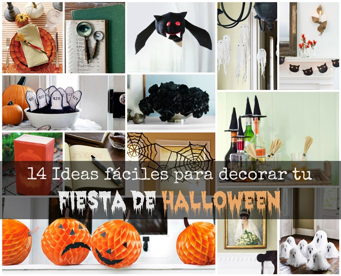14 Ideas F Ciles Para Decorar Tu Fiesta De Halloween Blog T D