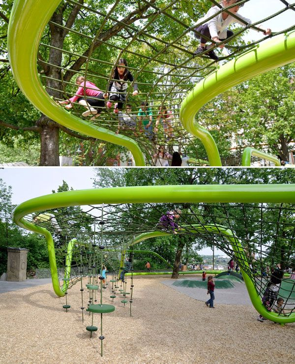 15 Amazing Playgrounds From All Over The World Paisajismo