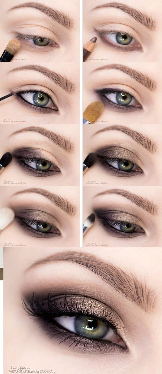 15 Easy Step By Smokey Eye Makeup Tutorials For Beginners In