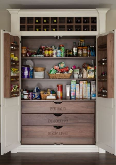15 Kitchen Pantry Ideas With Form And Function DECORA O Pinterest