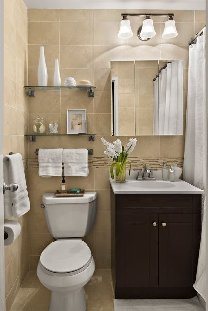 16 Ideas Para Decorar Tu Ba O De Visitas Peque Bathroom