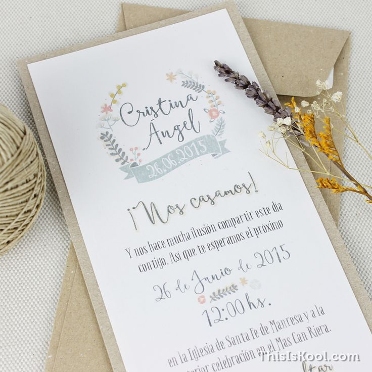 17 Best Ideas About Invitaciones De Boda Vintage On Pinterest