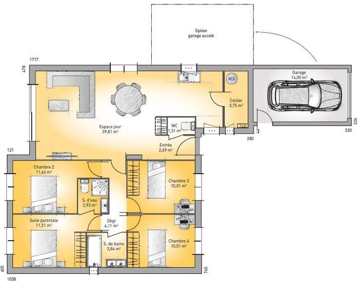 17 Best Images About Plan Maison On Pinterest Dressing Garages
