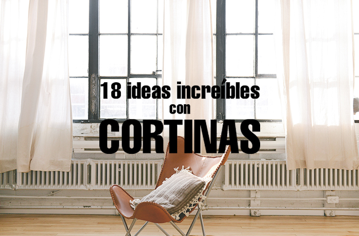 18 Ideas Incre Bles Con Cortinas Una Casa DIY By Handfie
