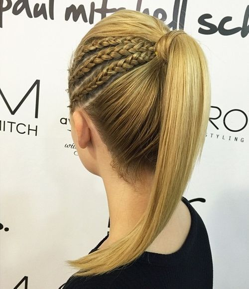 19 Pretty French Braid Ponytail Ideas Summer Hairstyles For
