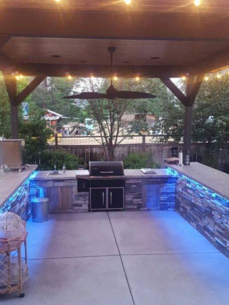 20 Awesome BBQ Grill Design Ideas For Your Patio Pinterest Cocinas