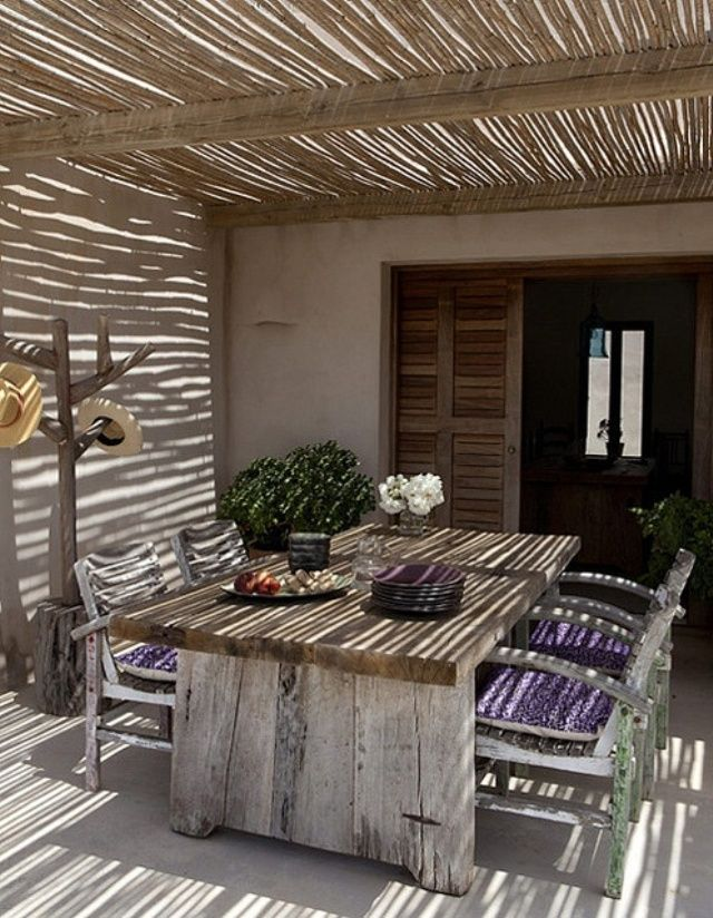 20 Ideas Para Decorar Exteriores Patios Terrazas Azoteas Blog
