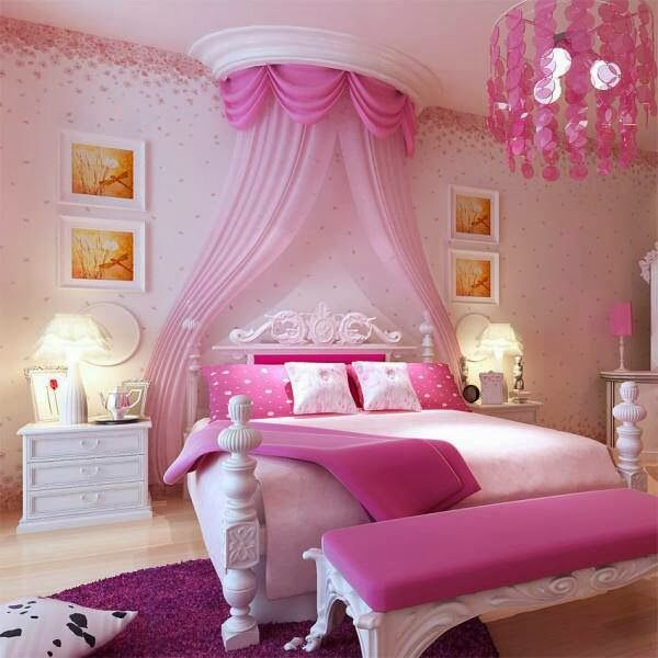 21 Preciosas Habitaciones Para Ni As De Color Rosa Decora Tu