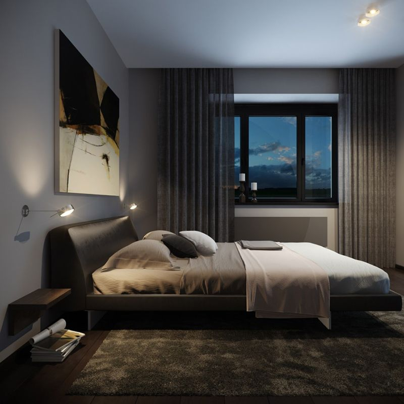 22 Bachelor S Pad Bedrooms For Young Energetic Men Dormitorio