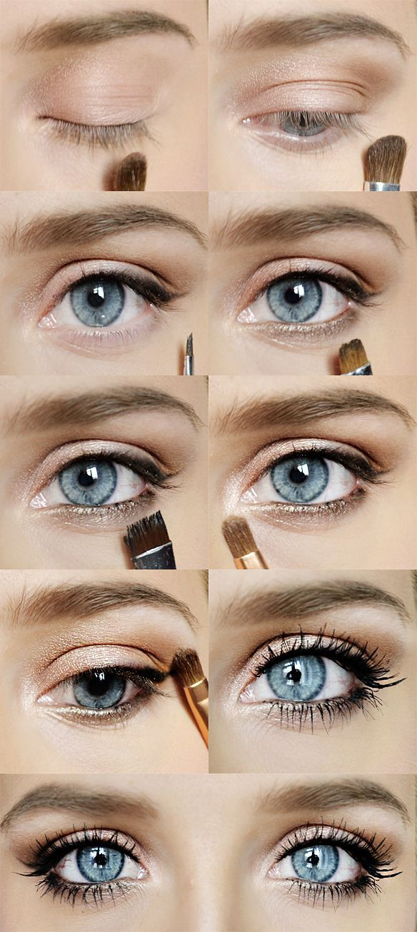 23 Great Makeup Tutorials And Tips Pinterest Maquillaje Ojos