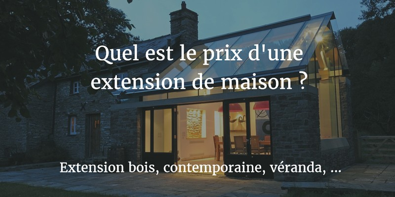 25 Inspirant Cout Extension Bois 40m2 Cdqgd