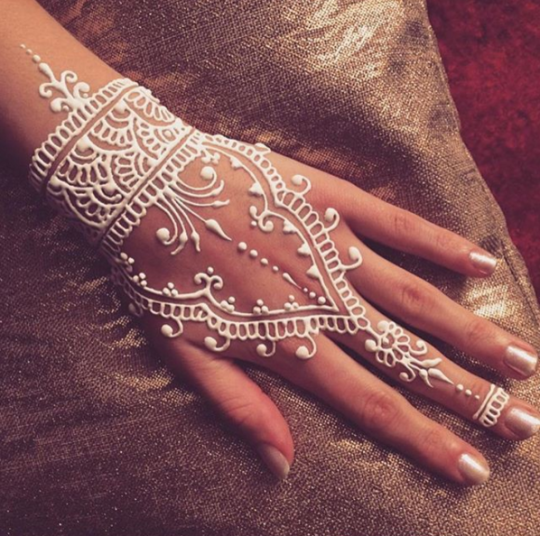25 Reasons To Fall In Love With White Henna S