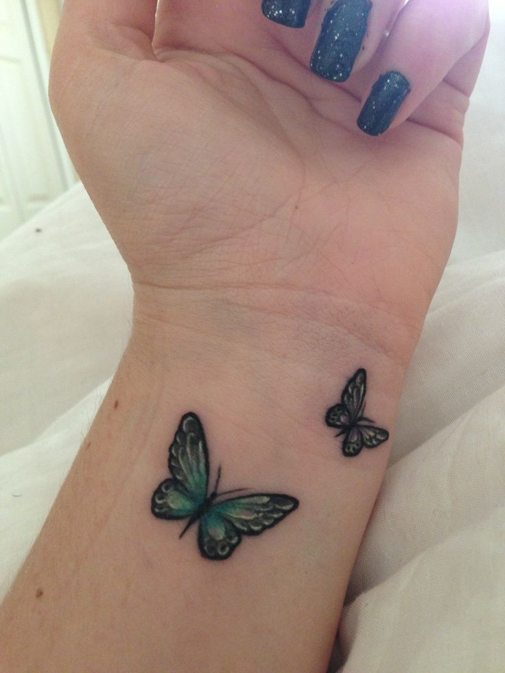 25 Small Tribal Tattoos On Wrist Schmetterling Pinterest