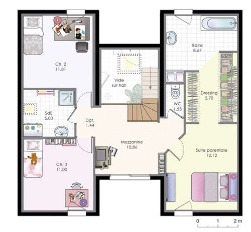 334 Best Plan Plein Pied Maison Images On Pinterest De