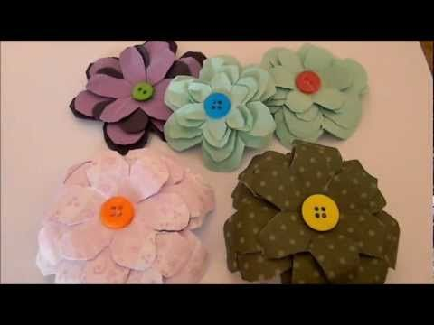 52 Best Flores De Papel Images On Pinterest Paper Flowers