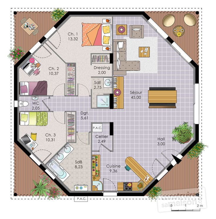 56 Best Plan Maison Images On Pinterest Floor Plans Home Ideas