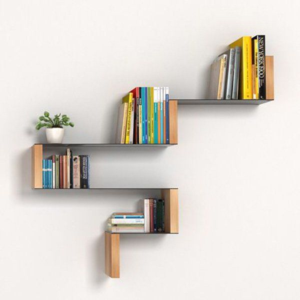 60 Creative Bookshelf Ideas Pinterest Libreros Repisas