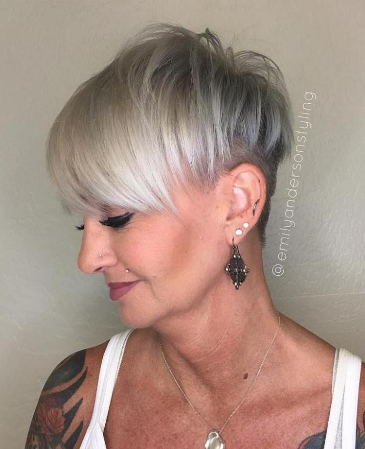 60 Gorgeous Gray Hair Styles Viejitos Y Trapillo Cortes De