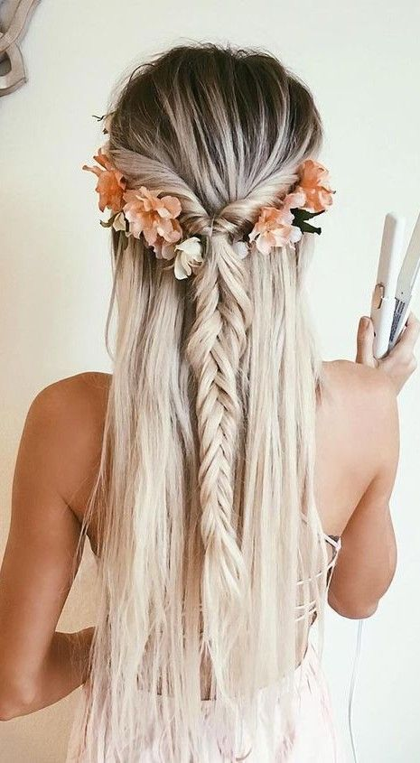 7 Ways To Have Gorgeous Hair On A Budget Braids Half Up Down