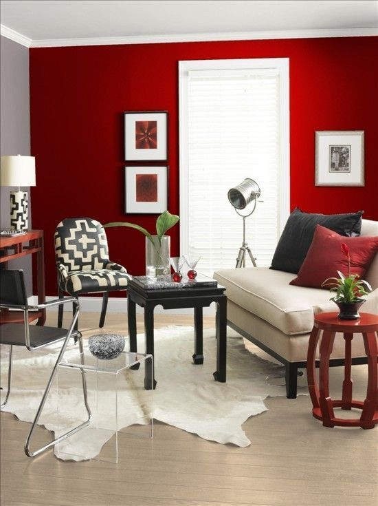 9 Fotos De Decoraci N Salas En Rojo Ideas Muebles