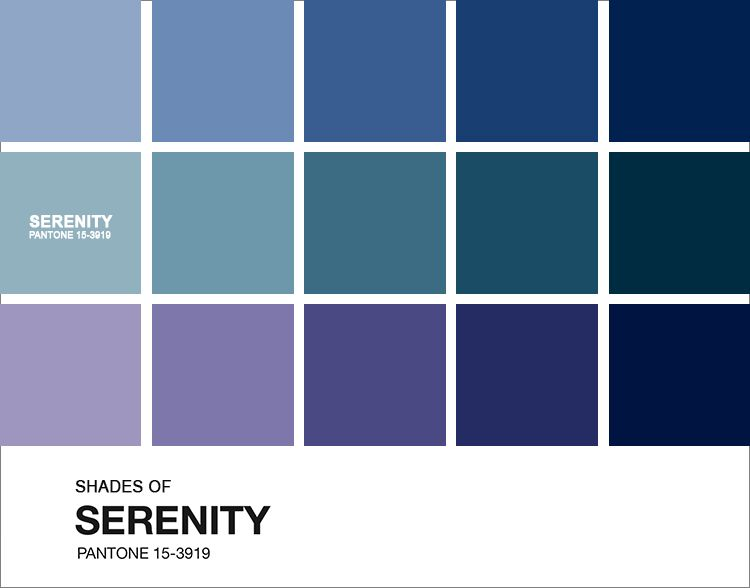A Cor Pantone Do Ano 2016 Varia Es Serenity Color Of The
