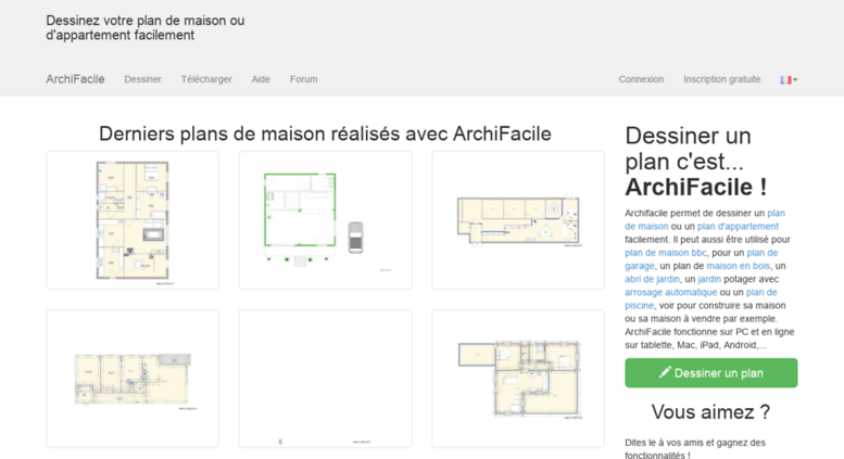 Access Archifacile Fr Plan De Maison Et D Appartement