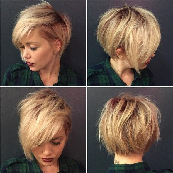 Adorables Ideas Corte De Pelo Con Flequillo Pixie Pinterest