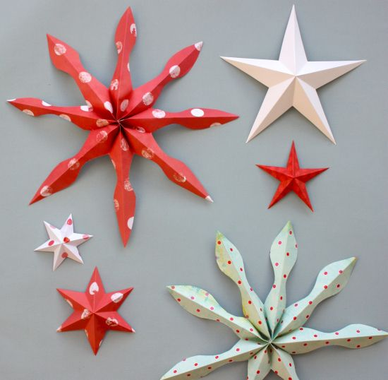 An Awesome Tutorial For Making Paper Stars DIY Ideas Pinterest