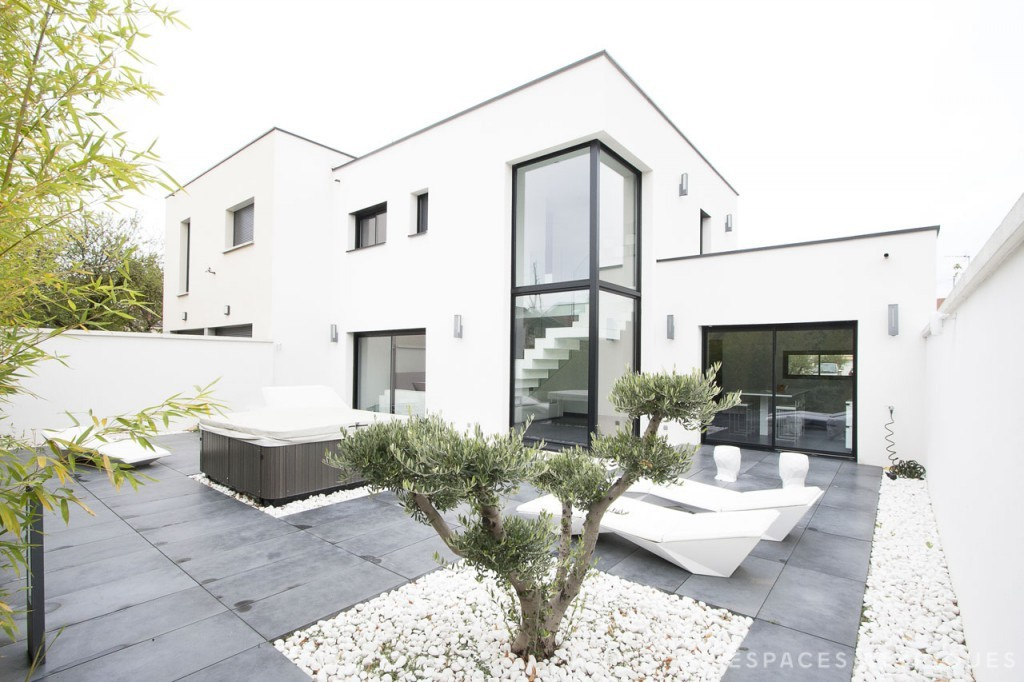 Architecture Contemporaine Maison Individuelle Mc Immo