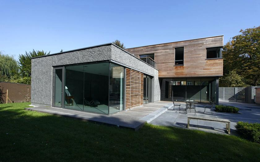 Architecture Contemporaine Maison Individuelle Mc Immo Villemoirieu