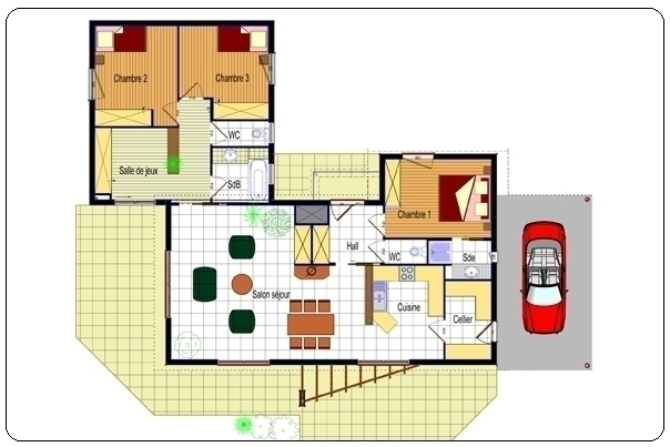 Architecture Moderne Plan Maison Plans Maisons