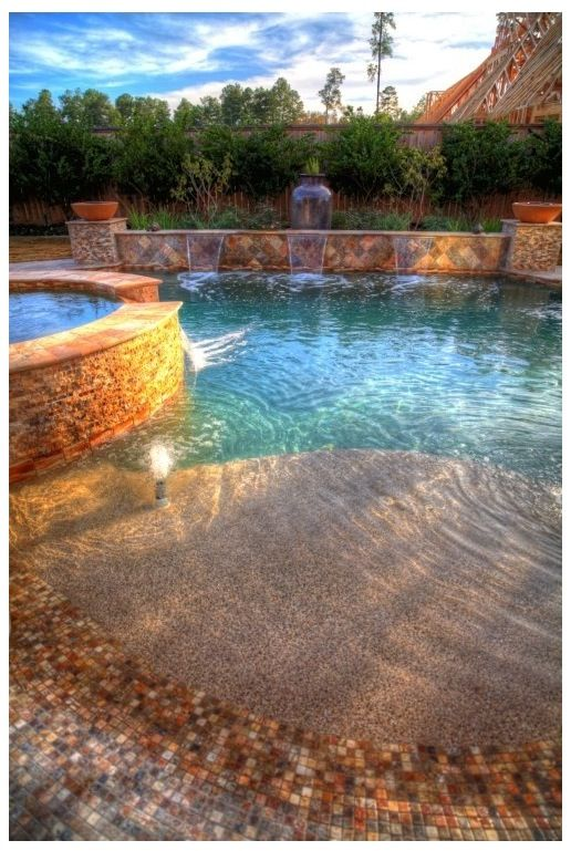 Awesome Pool Beach Inspired Pools Jacuzzis Pinterest