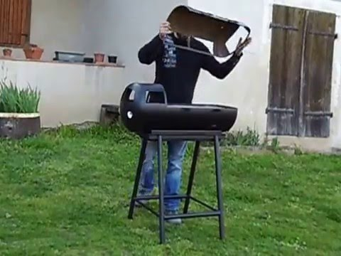 Barbecue Combi Vw Fait Maison YouTube