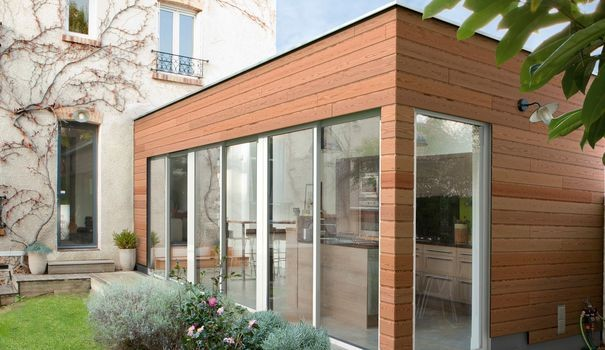 Beautiful Cout Extension Maison M De Ossature Bois