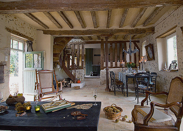 Beautiful Decoration Maison Ancienne Interieur Idees Id Es