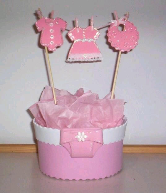 Bellas Ideas De Centros Mesa Para Baby Shower
