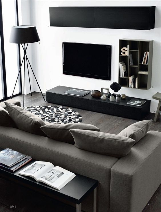 Black And White Living Room Ideas 24 Jpg 564 743 Pixeles Home