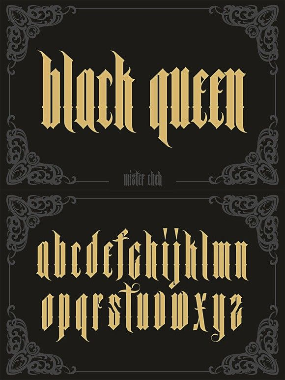 Black Queen Fonts 17 00 Caligrafia Ideas Pinterest