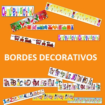 Bordes Educativos Para Decorar Trabajos Posters Y Carteles
