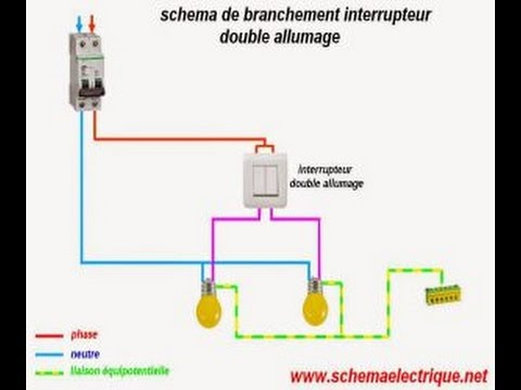 Branchement Lectrique Maison Youtube Schema Electrique Pdf