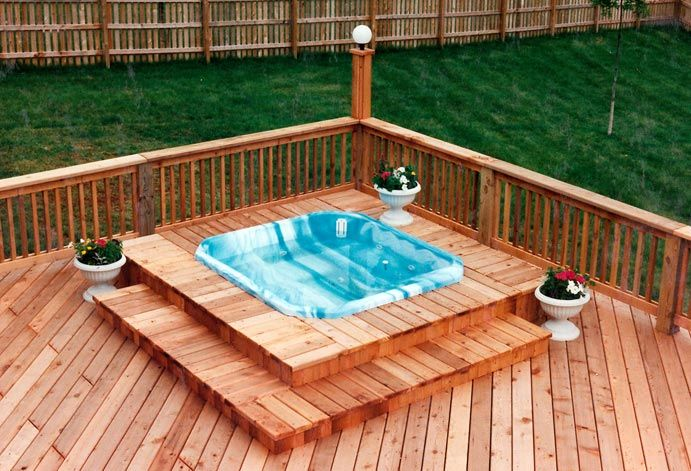 Built In Hot Tubs Into Deck MyCoffeepot