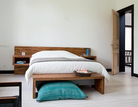 Cabeceros Modernos De Madera Forniture Pinterest Bedroom Teak
